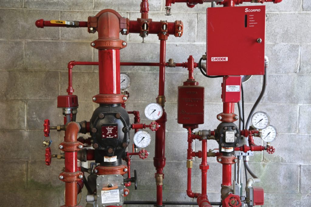 full-service fire sprinkler