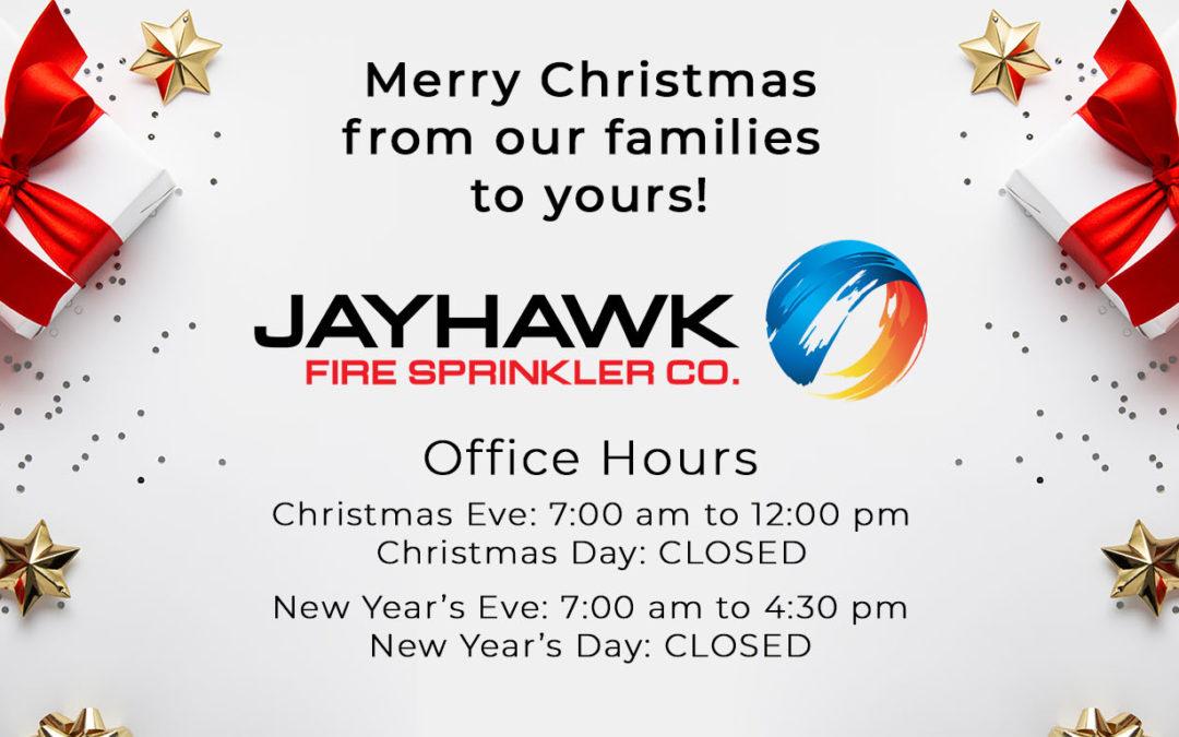 Merry Christmas from Jayhawk Fire Sprinkler